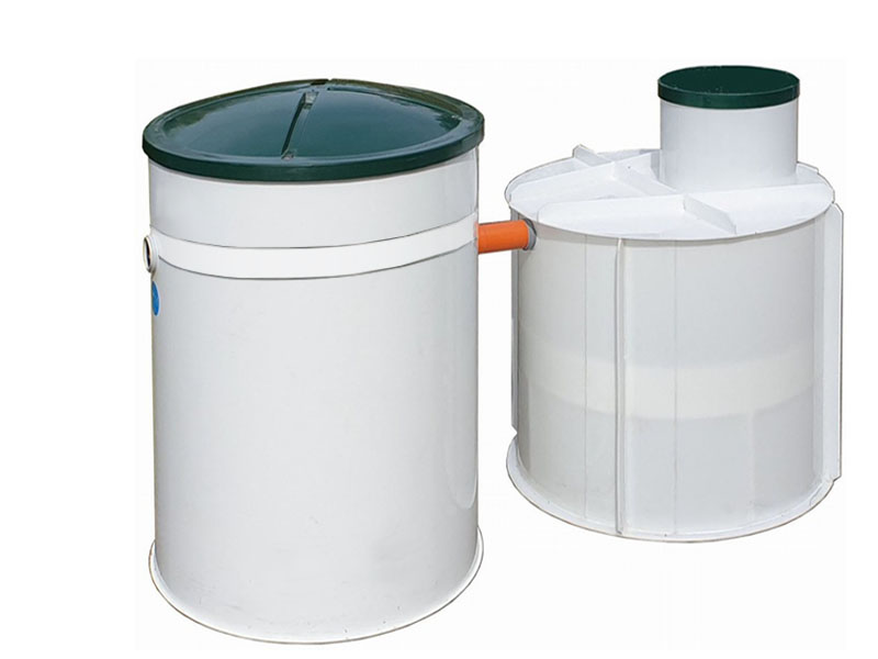 SESTAVA - Domovní ČOV Aquatec AT8 a PPA jímka 3 m³