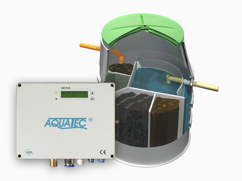 Prémiová domovní ČOV Aquatec AT12 PLUS