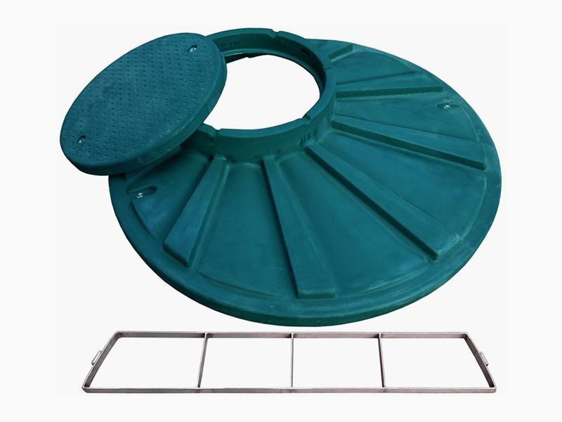 Příplatek za pochozí víko na ČOV (Ø 1400 mm) s malým revizním otvorem